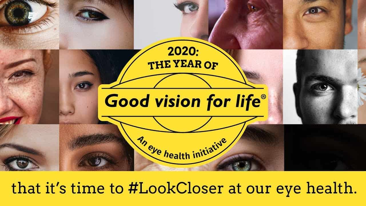 The year of good vision for life